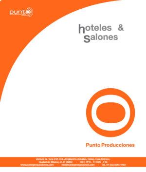 10 Book Hoteles & Salones By Punto Producciones 2016