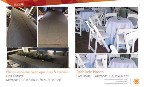 4 Book Mantelería Y Montajes By Punto Producciones 201741